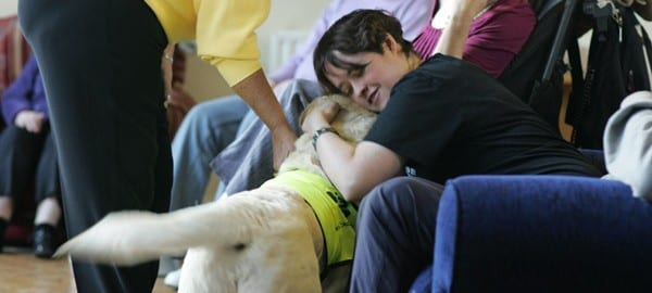 IRISH THERAPY DOGS VISIT DAY CENTRE
