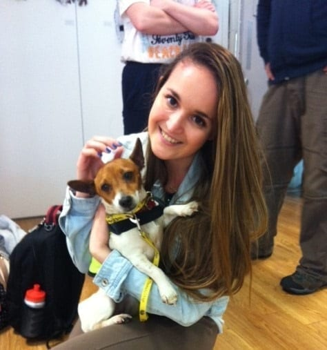 Irish Therapy Dog Penny, Awareness Day, Cork Institute of Technology - May 2014